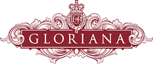 Gloriana, The Queen's Rowbarge Logo