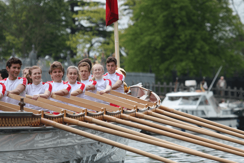 Kingston Grammar School Row Gloriana