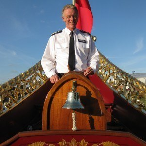 The Met Commissioner at the helm