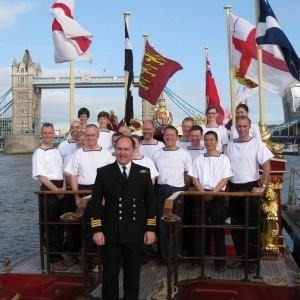 Royal Navy Reserve HMS President crew