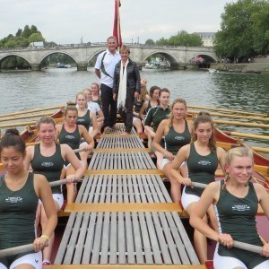 Surbiton High School crew, Coach and Headmistress
