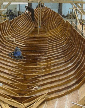 Gloriana Build Inner Hull