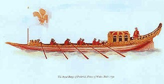 Royal Barge of Frederick Prince of Wales 1732