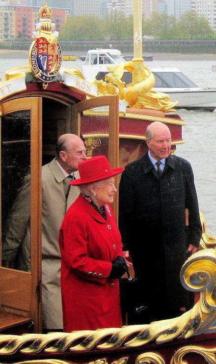HMQ aboard 25th April 2012