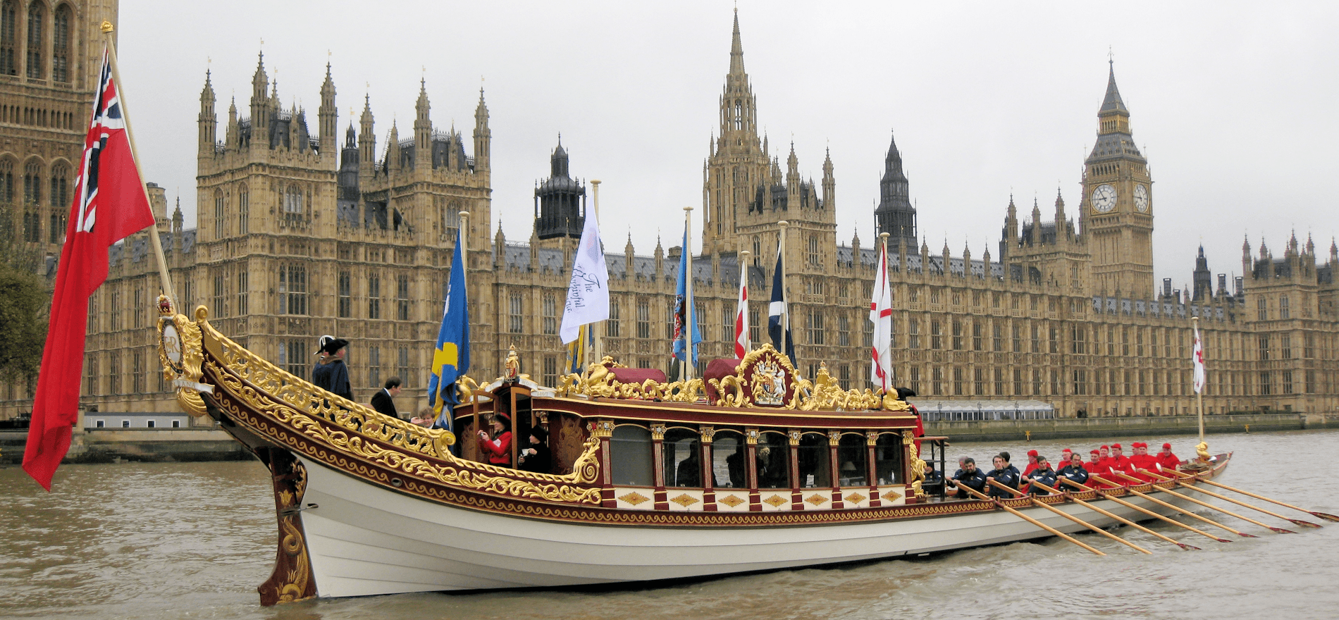 River Thames Flotilla to celebrate Her Majesty The Queen's