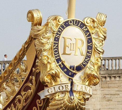 The Royal Cipher on Gloriana