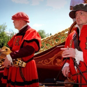 Royal Waterman Tudor Pull on board Gloriana