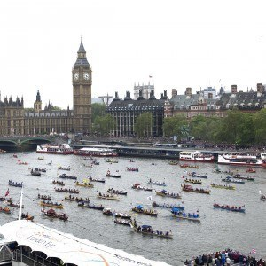 Canaletto Moment of the Queens Diamond Jubilee Thames Pageant Photo by Phil Harris
