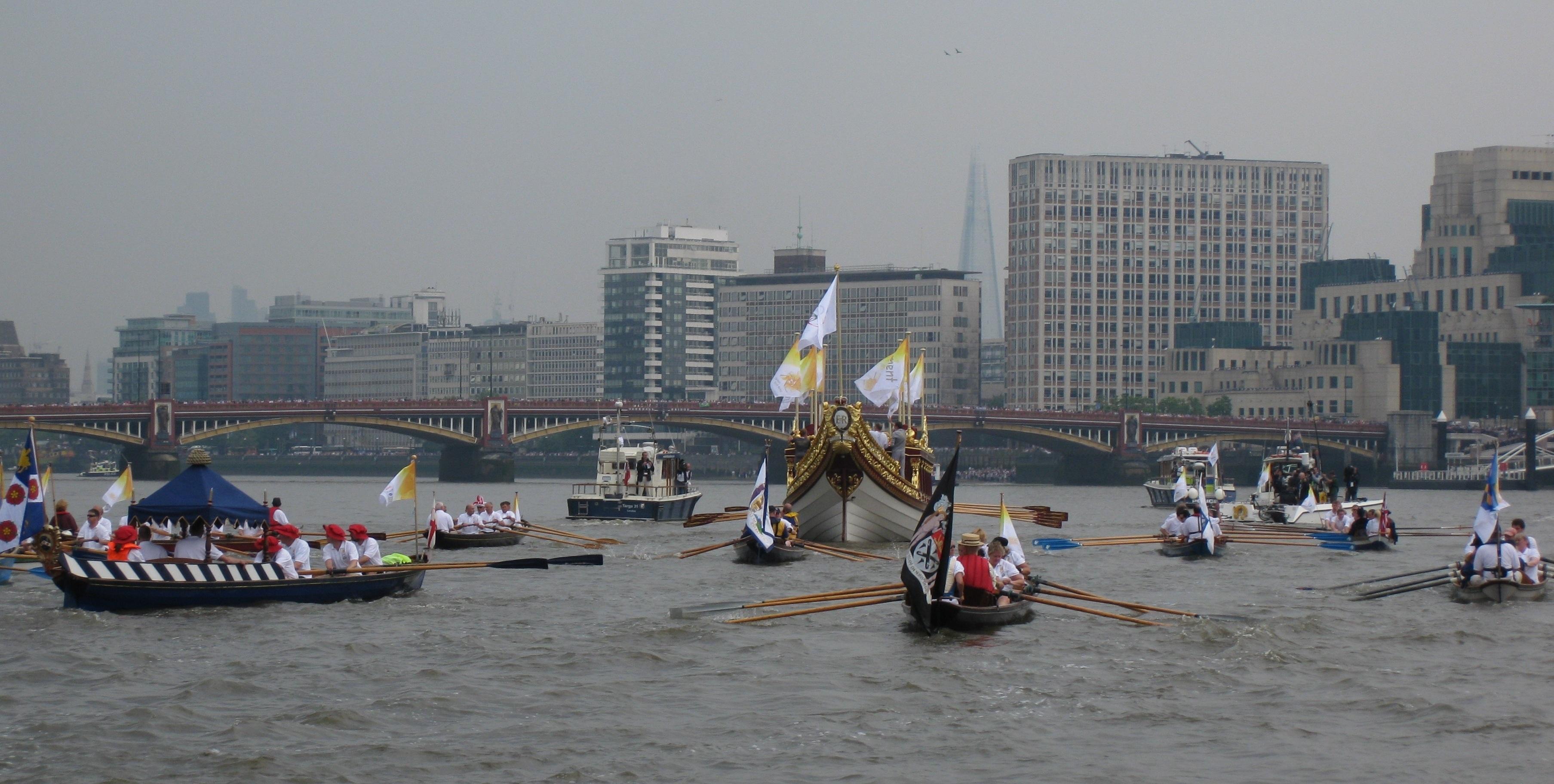 Flotilla 3 escorting QRB