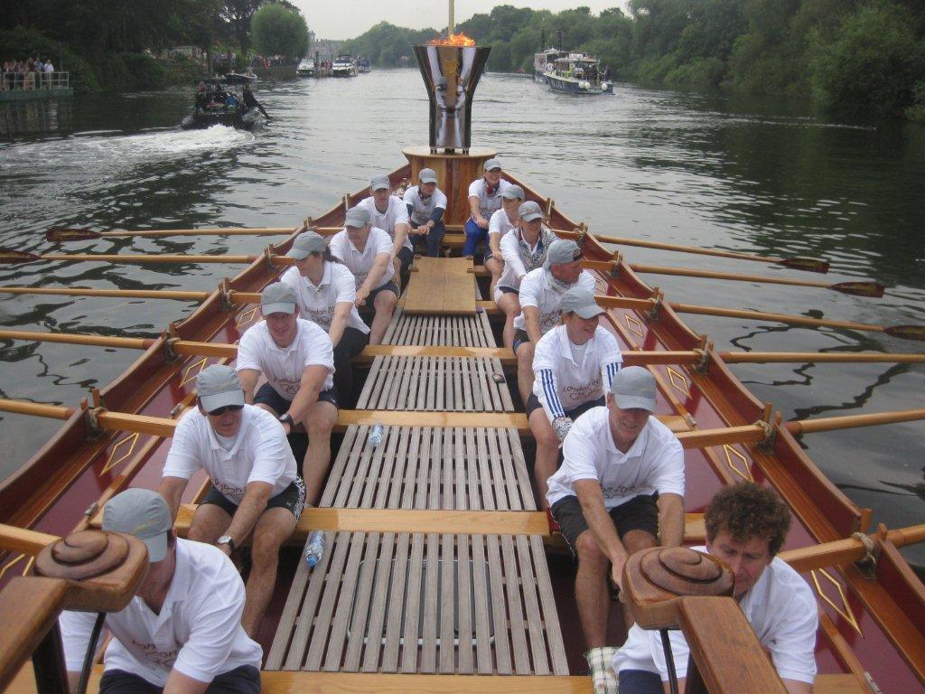 Forward togther, row, Olympian crew