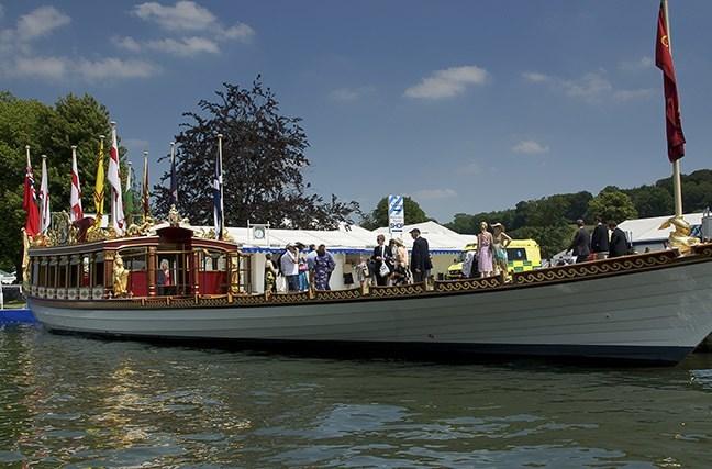 Gloriana at Henley Royal Regatta