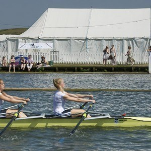 Women's double sculls at HRR