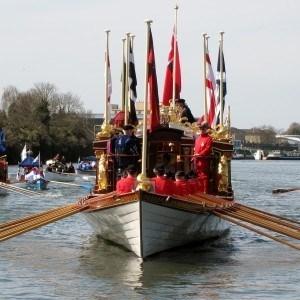 Gloriana leading the annual Tudor Pull