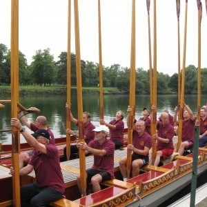 Richmond Borough Council Row Tossed Oars
