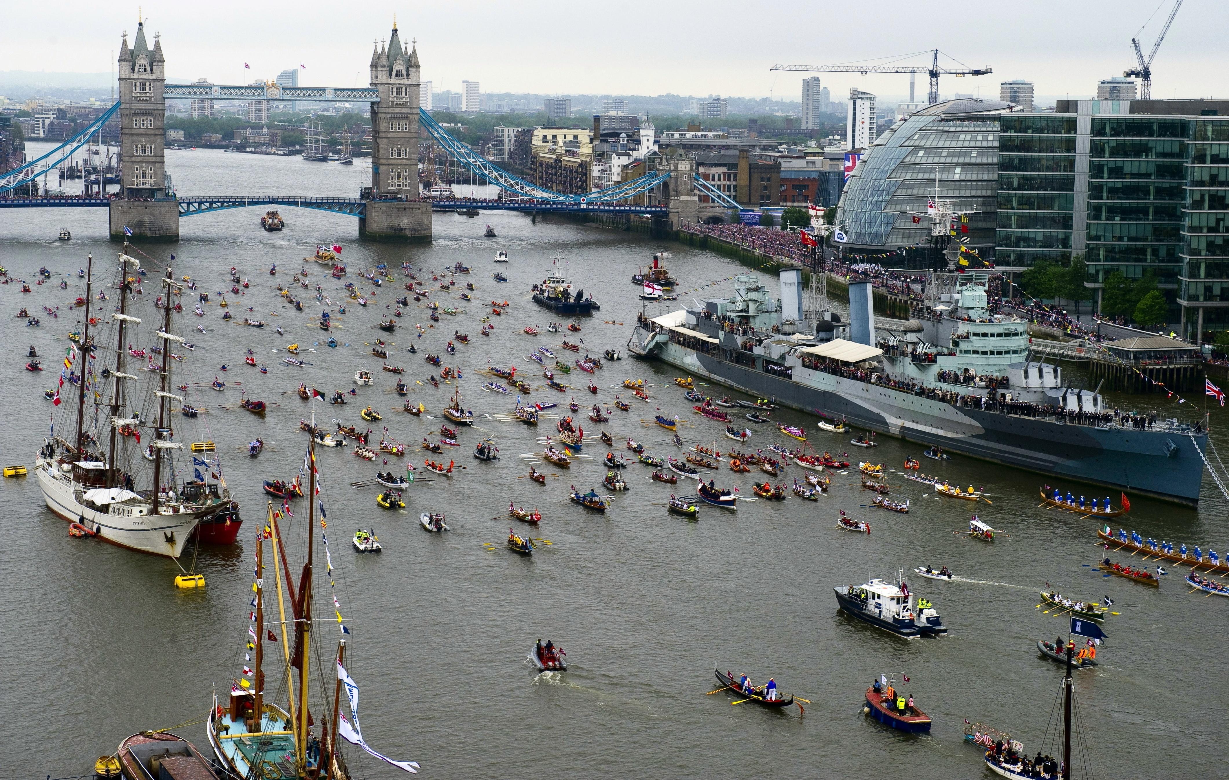 The Manpowered flotilla