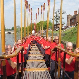 Volunteer Watermen seem to enjoy themselves!