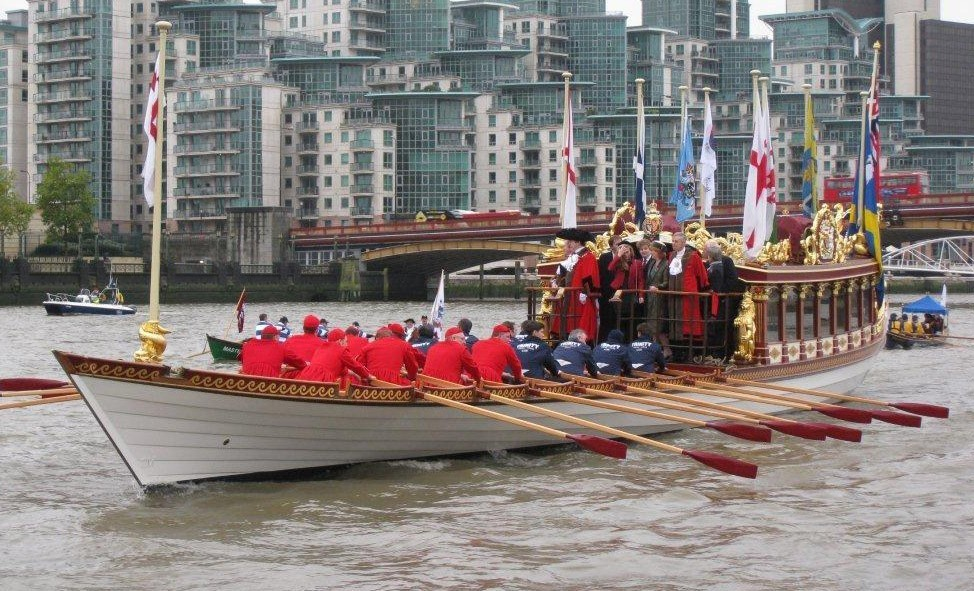 Gloriana in the River Pageant