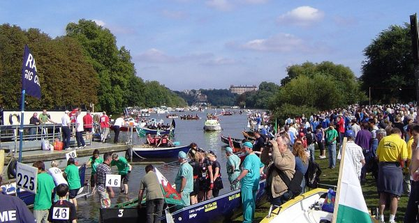 The Great River Race at Richmond upon Thames