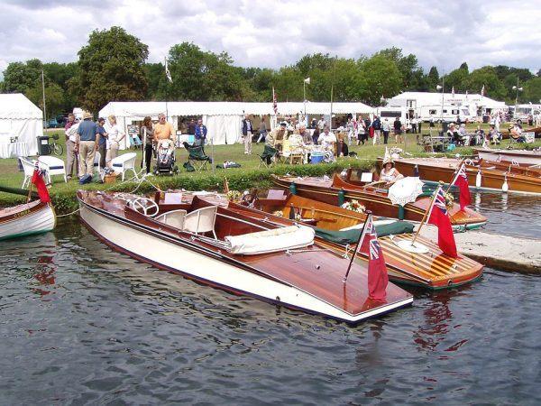 Thames Traditional Boat Festival Slipper Sterns